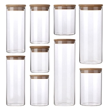 Wholesale hot-selling heat resisting clear cheap glass honey jars