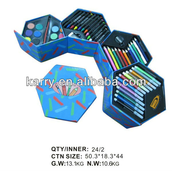 SCHOOL STATIONERY SETS ART & CRAFT PAINT CASES