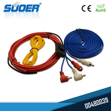 Suoer manufacture subwoofer power audio cable car amplifier amp wiring kit