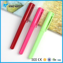 Wholesale customised promotional plastic gel pens for school plastic candy color gel ink pen