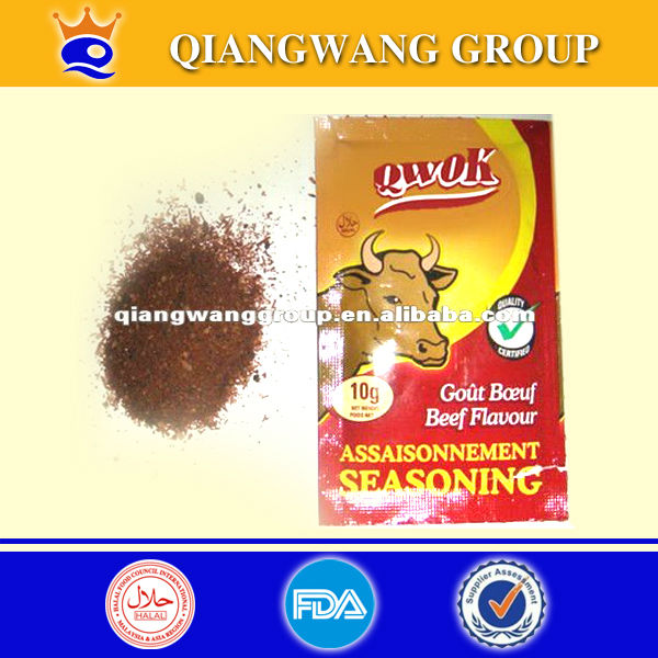 10g beef seasoning powder beef bouillon powder come in packets