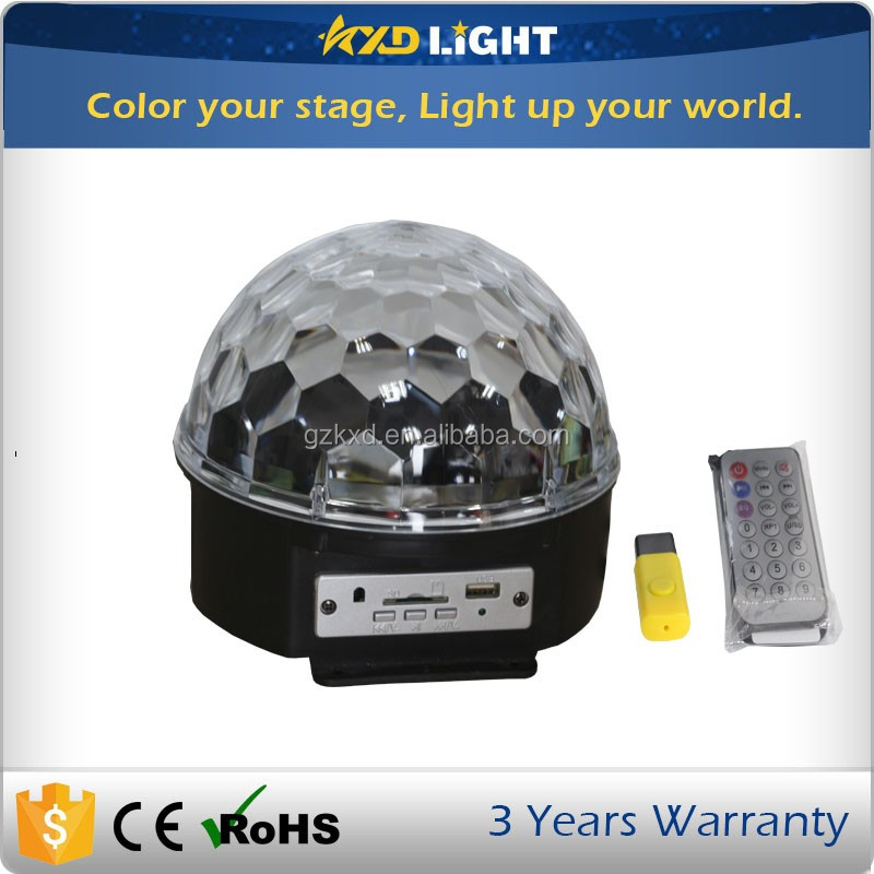 Big Sale KXD RGBWAP LED Colorful Disco Ball