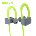 KINLAN Fashion Waterproof headphone Bluetooth earphone Sport headset with microphone V4.1