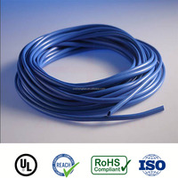 Low voltage PVC flexible insulation cable tube non shrinkable PVC tube