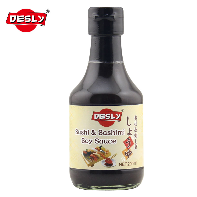 Japanese products sushi sashimi soy sauce 200ml