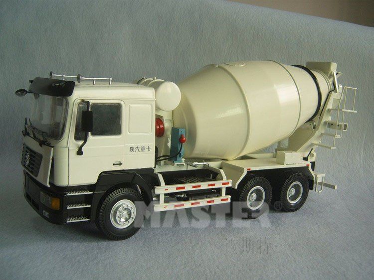 1 10 scale metal Cement mixer truck model