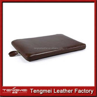 new products zipper tablet For pu Leather iPad Case with high quality