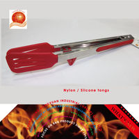 Kitchen tongs BBQ Silicone tongs