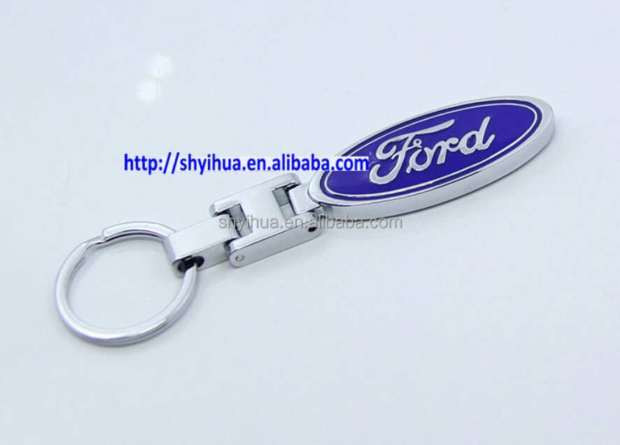 Cheap and high quality ford car logo keychain