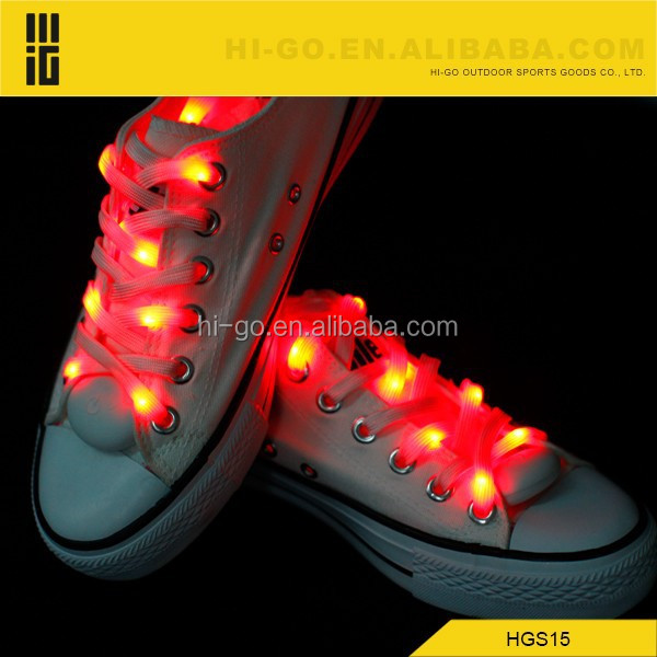 most popular party supplies led shoeslace christmas shoe lace