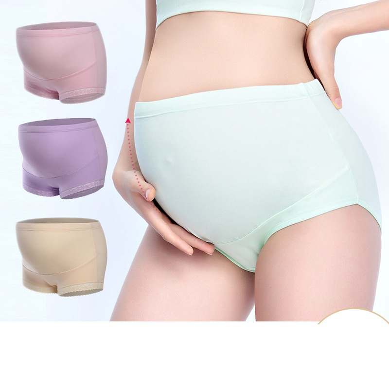 Wholesale High Quality Cotton Maternity Panties High Waist UnderPants Pregnant Underwear