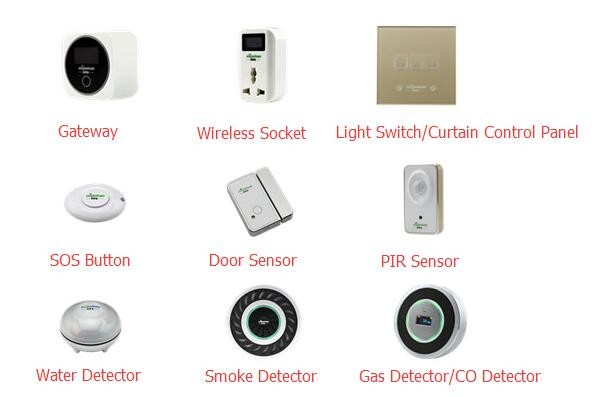 Hotest Standalone Or Zigbee Wireless Water Detector View