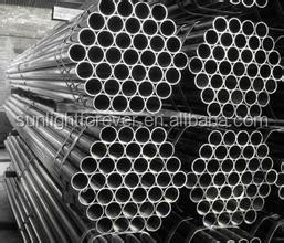 Hot rolled hollow section round steel pipe GI pipes 4 inch astm a53 galvanized steel pipe tube specifications