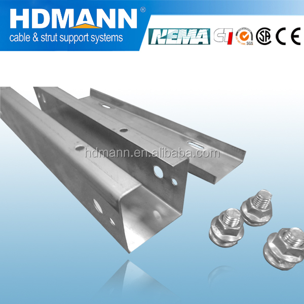 Light duty galvanized cable trunking OEM supplier cable support system