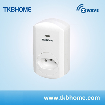 TKBHOME TZ69BR z-wave smart energy plug in type of Brazil