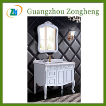 G92020 Antique Style Floor Mounted Bathroom Cabinet Wall Corner Cabinet In Bathroom