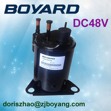 R134A BOYARD 48 volt dc compressor ac compresor replace QDZH25G for Solar Powered Household Refrigerator