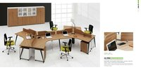 2012 hot -sale new design 6 people office partitions desk/table/workstation