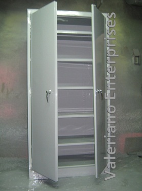 Steel Storage Cabinet with 5 Adjustable Shelves