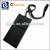 Leather Badge Holder Accessories With Lanyards