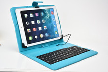 "Fold Down to Take Pictures Ultra Thin and Lightweight USB Keyboard Case for 7"",8"",9"",9.7"",10"" Universal Tablet Keyboard Case"