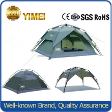 3-4 person double layers automatic camping tent