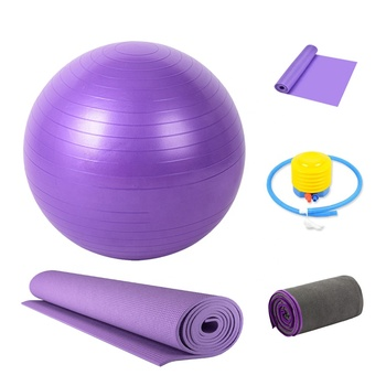 High Quality Colorful Private Label Sport Fitness Yoga Kit Set for Beginners