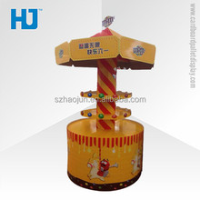 Customized Corrugated Cardboard Dump Bin For Candy Promotion