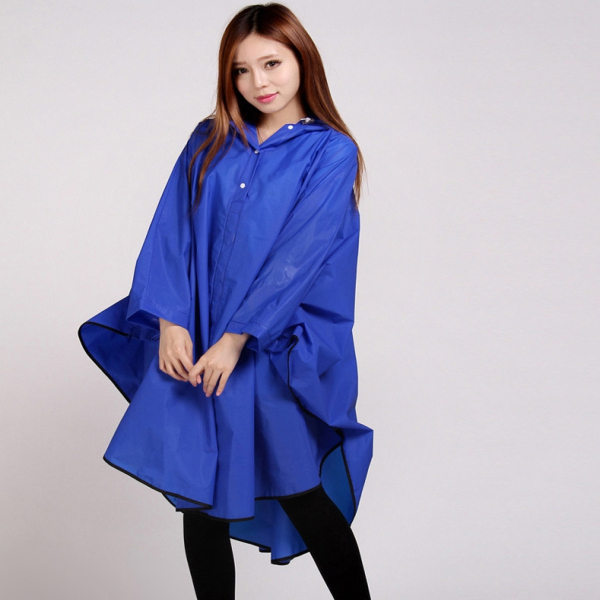 Girls Fashion Waterproof Jackets Women Rain Coat with Hood Poncho Ladies Lightweight Travel Raincoats