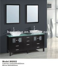 green environmental oak bathroom furniture W6005