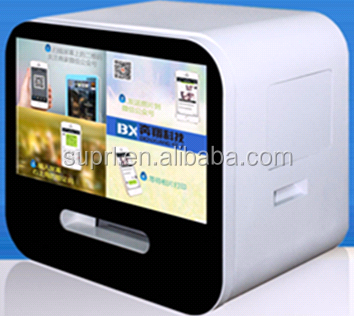 lcd monitor/transparent lcd display/low cost touch screen advertising player show mobile phone