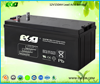 high rate 12v150ah maintance free battery solar battery
