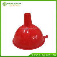 Low cost latest design plastic funnel food grade oil funnel