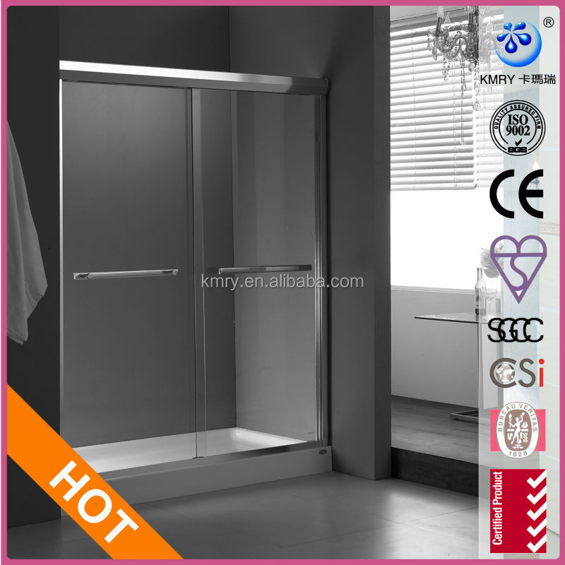 Two Side Cheap Sliding Bathtub Shower Doors/Shower Screens(KD6004T)
