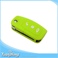 Environment protecting silicone Focus car key cover new design factory made