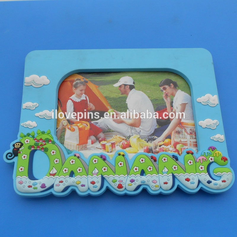 hot sales beautiful 3d embossed pvc photo frame for picture