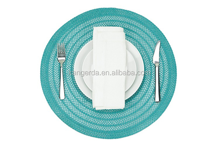 Restaurant Home Round Woven Placemats