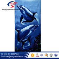 Factory supply printed towel for beach beach towels