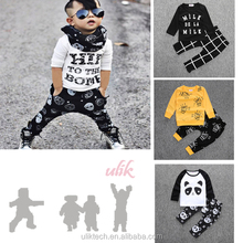 Best selling products 2017 in usa child clothes 2 piece in 1 set child clothing wholesale clothing