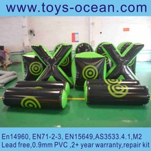 Newly inflatable paintball bunker for adult with high quality in low price