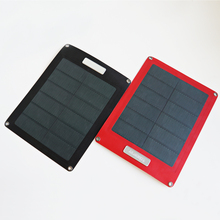 Hanergy 8w portable solar charger for mobile phone with CIGS solar cell