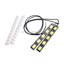 12V DRL Light Auto COB LED daytime driving light car slim cob drl daytime running light