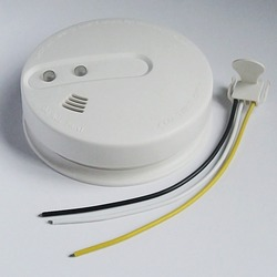 cheap wireless interconnected conventional smoke detector
