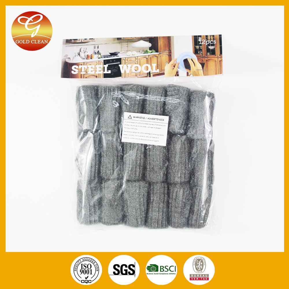 High Quality kitchen Wash steel wool soap pads