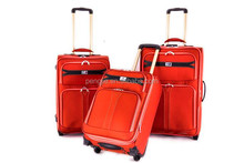 red color travel wholesales luggage sets trolley bags and luggages