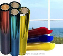 One way mirror film blue reflective silver 20% window tint film