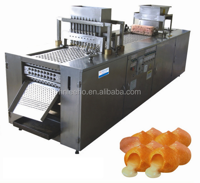 leeho brand stuffed biscuit forming production line