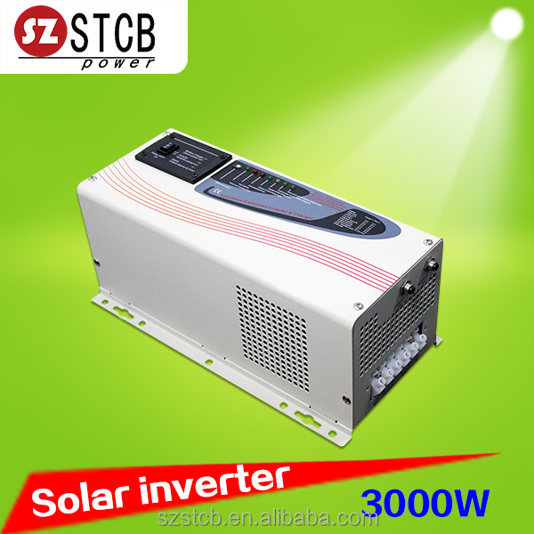Used for home solar systems dc to ac power inverter 3000w