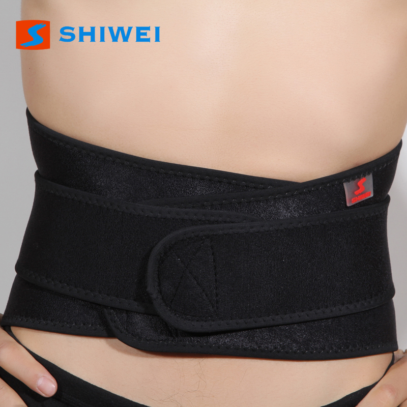 Breathable neoprene pain relief waist back support belt
