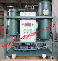 Gas Turbine oil filtering unit, Oil Purification Plant for breaking emulsification,dehydration and degassing